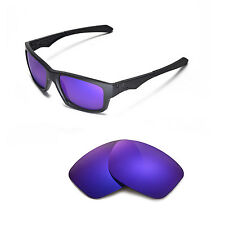 Walleva Polarized Purple Replacement Lenses for Oakley Jupiter Squared Glasses