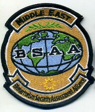 RESIDENT EVIL Bioterrorism Security Assessment Alliance BSAA Middle East Patch