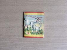 Vecchio Mini Libro di Fiabe IL LUPO E LE SETTE CAPRETTE ed. Vecchi 1952 [AF13]