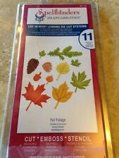 "Spellbinders Shapeabilities ""Fall Foliage"" Dies S5-120"