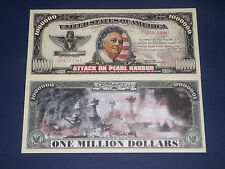 THE ATTACK ON PERAL HARBOR NOVELTY BANKNOTE FREE NOTE OFFER!