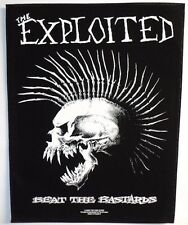 THE EXPLOITED BEAT THE BASTARDS BACK PATCH