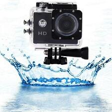HD 1080P 12MP Waterproof Action DV Sports Camera Car Cam Camcorder Recorders EH