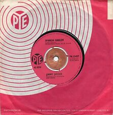 JIMMY JUSTICE - SPANISH HARLEM / WRITE ME A LETTER. (UK, 1962, PYE, 15457)