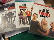 The Big Band Theory, Seasons 1, 2, and 4 DVD sets