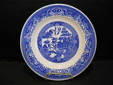 """1 One Dinner Plate 10""""  Blue Willow Ware dinnerware by Royal China Ironstone"""