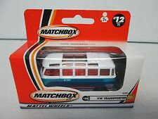 Matchbox VW Transporter #12