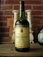 weine vin wijn wine CHATEAU TALBOT *1974* SAINT JULIEN CRU CLASSE 43 JAHRE ALT.