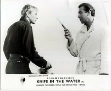 KNIFE IN THE WATER 1962 Roman Polanski, Leon Niemczyk 10x8 LOBBY CARD