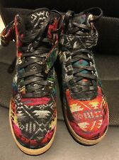 Nike Air Force 1 Nike ID 911187-991 AF1 WHAT THE PENDLETON Size 10