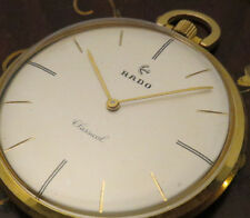 Impossible Find for the RADO Fans The Classical POCKET Watch For Mens Excellent