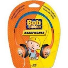 Little Star BOB THE BUILDER kids Over Ear Stereo pulire Cuffie Arancione