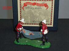 Little Legión Z/40 Zulu Guerra ahorro privado Evans Metal Conjunto figura soldado de juguete
