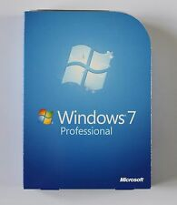 Microsoft Windows 7 Professional 32bit & 64bit Full Retail Version