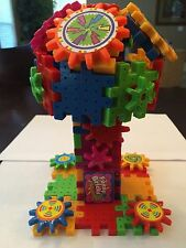 Gears Cranks Funny Bricks  Learning Building Educational 162 Pieces Toy Set