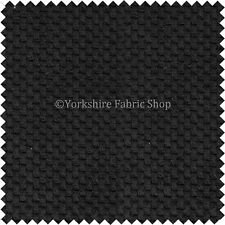 Plain Pebble Textured Black Colour Dotted Soft Cord Upholstery Furniture Fabric