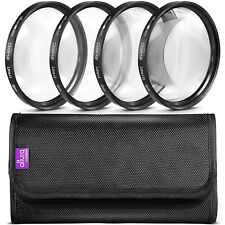 Altura Photo® 58MM Close-Up Macro Lens Filter Kit for Canon REBEL T6i T5 T4i T3i