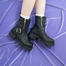 UNIF  Cease Motorcycle Boots size 6 new with box black $192.00