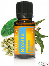 doTerra Breathe Respiratory Essential Oil 15ml - New and Sealed - Free Shipping