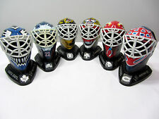 Lot of 6 McDonalds 1996 NHL Mini Goalie Masks Collectables Potvin-Roy-Belfour