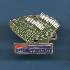 Pin's pin GIAT INDUSTRIE BLINDE LANCE-MISSILES SUR CHENILLES (ref 090)