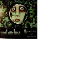 MALOMBRA: Our lady of the bones; Black Widow Records BWR 009 with insert 2LP RAR