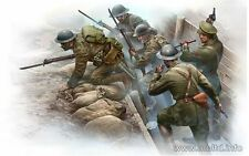 PLASTIC MODEL BRITISH INFANTRY BEFORE THE ATTACK 1/35 MASTER BOX 35114 DE