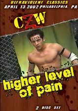 Combat Zone Wrestling: Higher Level of Pain DVD, CZW