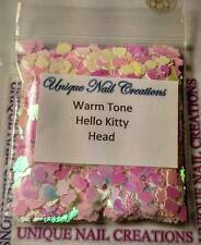 Solvent Resistant HELLO KITTY Warm Tone ~ Nail Art~ USA