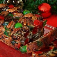 Mary Lou's Famous Homemade Holiday Fruitcake 2 Pound Loaf Great Christmas Gift
