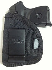 Small of Back IWB Gun Holster fits Beretta Tomcat with laser use L or R hand