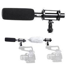 Pro BOYA Condenser Shotgun Microphone BY-PVM1000 3-pin XLR Output on DSLR Camera
