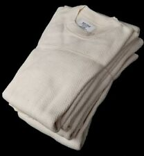 Extreme Cold Weather Undershirt, Size Medium, USGI Cotton Waffle  Made in USA!