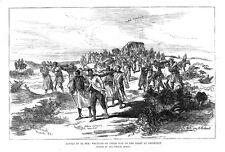 Sudán heridas por la batalla de el Teb en ruta a trinkitat-Antiguo impresión 18