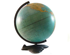 Antique Weber Costello 1946 WWII Rare & Unusual Air Plane Base Aviation Globe