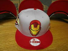The Avengers Invincible Iron Man Marvel Comics New Era Hat Snapback MED-LG 0301