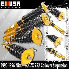 Coilover Suspension for 1990-1996 Nissan 300ZX Z32 Turbo Coupe 2D 3.0L V6 GOLD