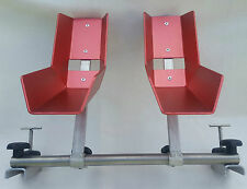VW T5 T6 Bicycle stand for 2 bike rack in Interior Wheel width 6cm-9,2cm NEW red