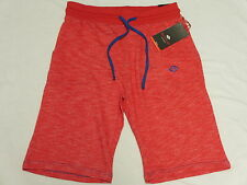 NWT Mens Enyce Sean Combs Contrast Terry Sweat Shorts Red Urban 2X XXL 2XL M761
