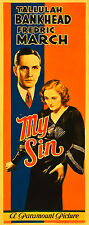 My Sin 1931 DVD  Fredric March, Tallulah Bankhead, Eric Blore Pre Code