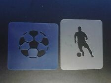 football & player face painting stencils reusable many times Children in Need