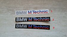 BMW Aufkleber M Technik sticker M-Tech M3 E30/e36/e34/e28/e/12 M Power