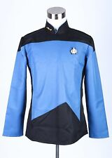 Star Trek TNG The Next Generation Uniform Long Sleeve Shirt Costume
