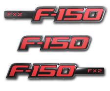 2009-2012 NEW OEM Ford F-150 FX2 Sport Appearance Package Emblem Set -Black/Red