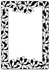 Crafts Too A6 Embossing Folder POINSETTIA FRAME CTFD4009