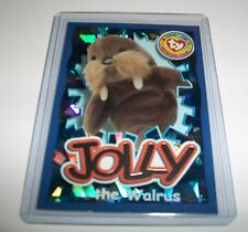 Ty S4 Beanie CARD WILD FACT JOLLY THE WALRUS SILVER INSERT ONLY 270
