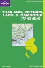 Lonely Planet Travel Atlas: Thailand, Vietnam, Laos and Cambodia : Travel...