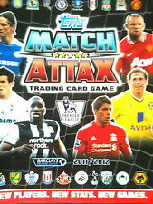 MATCH ATTAX 11/12 425 CARDS ALL 4 100 CLUB + 60 MOTM STAR PL/SIGNINGS