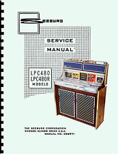 MANUALE COMPLETO  (manual) JUKEBOX SEEBURG LPC480-LPC480R-LPC480D-.DR (juke box)