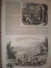 Pâques et la grande exposition hyde park tire à sa fin 1851 old prints